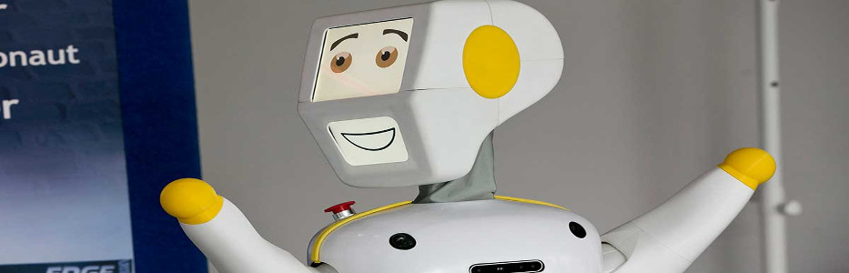 'Social robot' hosts bingo lessons and tells stories at nursing home